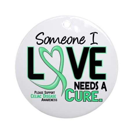 Needs A Cure 2 CELIAC DISEASE T-Shirts & Gifts Orn