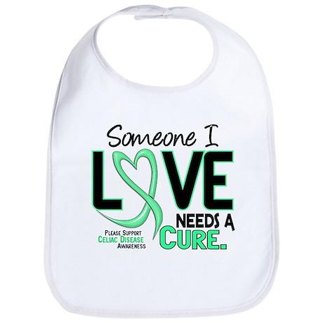 Needs A Cure 2 CELIAC DISEASE T-Shirts & Gifts Bib