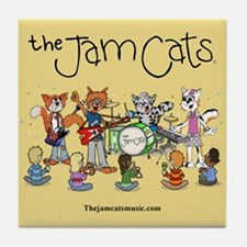 The Jam Cats Tile Coaster