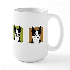 Boston Terriers Large Mug