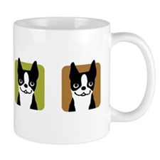 Boston Terriers Small Mugs