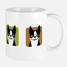 Boston Terriers Small Mugs