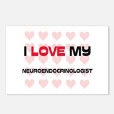I Love My Neuroendocrinologist Postcards (Package