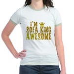 I'm Sofa King Awesome Jr. Ringer T-Shirt