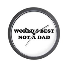 Not A Dad Wall Clock