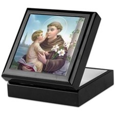 Saint Anthony 1 Keepsake Box