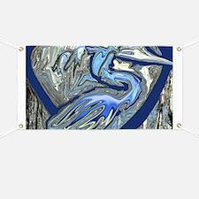 Blue Heron Banner