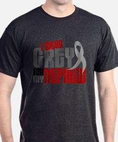 I Wear Grey For My Nephew 6 T-Shirt