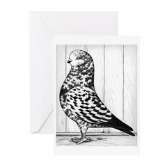 Canadian Show Tippler Greeting Cards (Pk of 20)