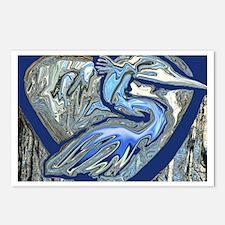 Blue Heron Postcards (Package of 8)