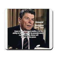 President Ronald Reagan Mousepad