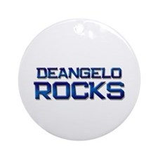 deangelo rocks Ornament (Round)