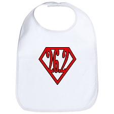 Superman the Runner Bib
