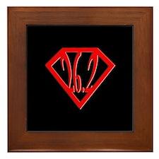 Super Marathoner Framed Tile