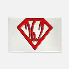 Super Marathoner Rectangle Magnet (10 pack)