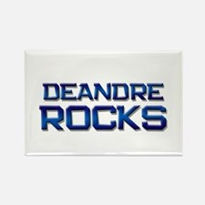 deandre rocks Rectangle Magnet