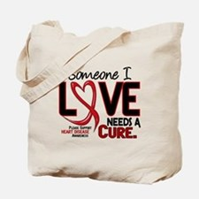 Needs A Cure Heart Disease Tote Bag