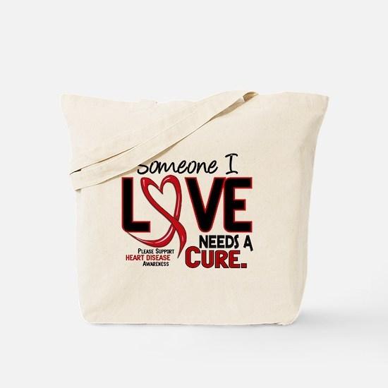 Needs A Cure Heart Disease Tote Bag