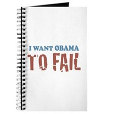 I want Obama To Fail Journal