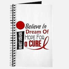 Believe Dream Hope Heart Disease Journal