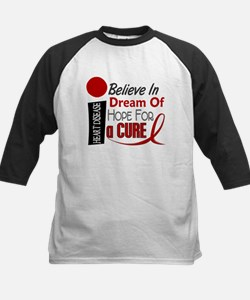 Believe Dream Hope Heart Disease Shirt Tee