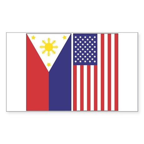 Flags Rectangle Sticker
