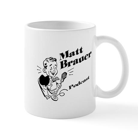 Matt Brauer Podcast Logo Mug