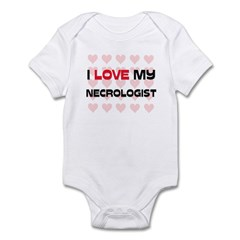 I Love My Necrologist Infant Bodysuit