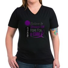 BELIEVE DREAM HOPE Fibromyalgia Shirt Shirt