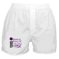 BELIEVE DREAM HOPE Fibromyalgia Boxer Shorts