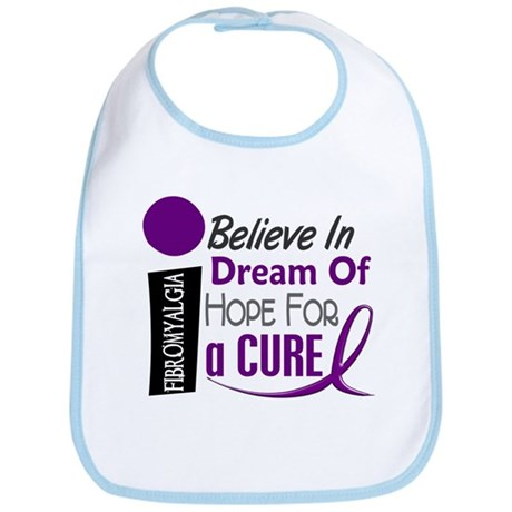 BELIEVE DREAM HOPE Fibromyalgia Bib