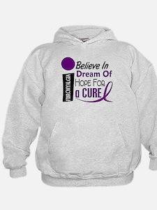 BELIEVE DREAM HOPE Fibromyalgia Hoodie