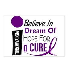 BELIEVE DREAM HOPE Fibromyalgia Postcards (Package