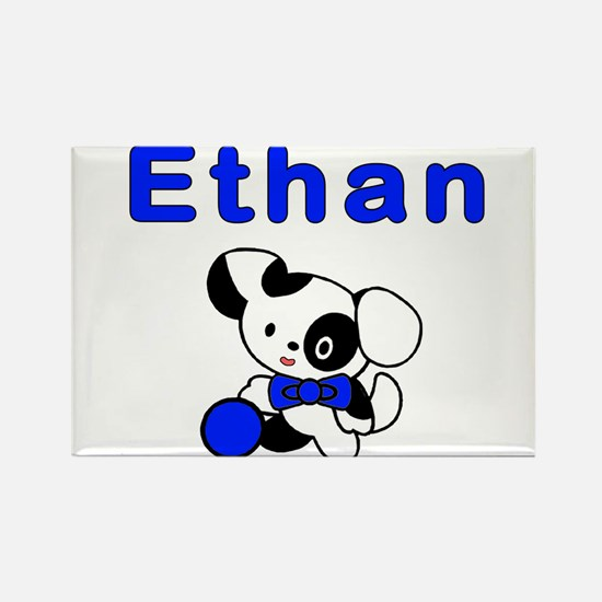Puppy Dog Ethan Rectangle Magnet