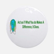 Inspiration and Humor Ornament (Round)