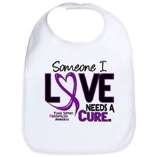 Needs A Cure Fibromyalgia Bib