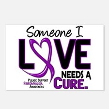 Needs A Cure Fibromyalgia Postcards (Package of 8)