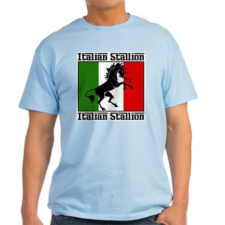 Classic Italian Stallion Light Color T-Shirt