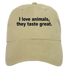 Anti-Peta Animal Humor Baseball Cap