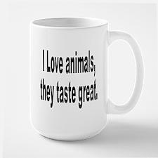 Anti-Peta Animal Humor Mug