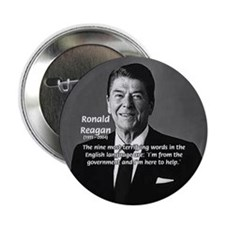 "American President Reagan 2.25"" Button (10 pack)"
