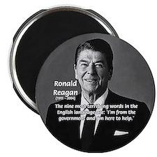American President Reagan Magnet