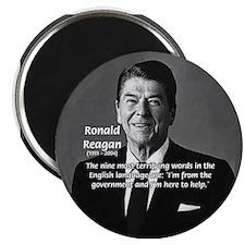 "American President Reagan 2.25"" Magnet (10 pack)"