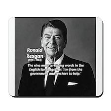 American President Reagan Mousepad