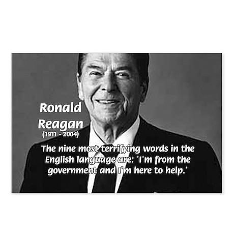 American President Reagan Postcards (Package of 8)