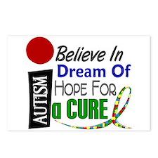 BELIEVE DREAM HOPE Autism Postcards (Package of 8)
