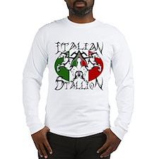 Italian Stallion ~ Tribal Long Sleeve T-Shirt