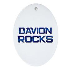 davion rocks Oval Ornament