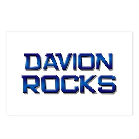 davion rocks Postcards (Package of 8)