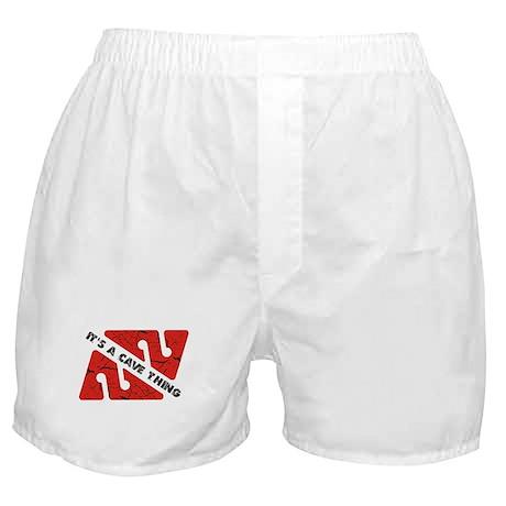 Cave Diver Boxer Shorts